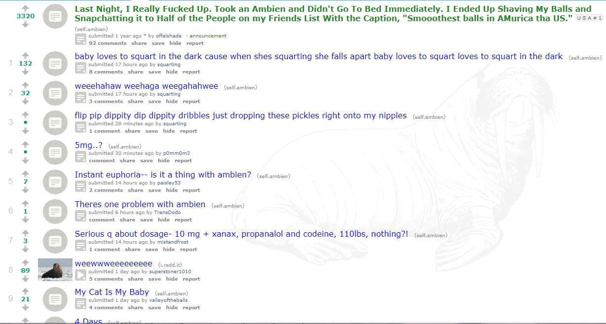 Fringe Reddit subs and the insane people who post in them  | Kiwi Farms