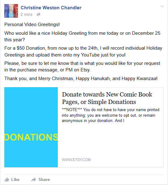 12 22 chris will upload personal greetings for 50 donations kiwi view attachment 64489 m4hsunfo