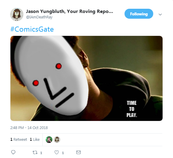 Jason Yungbluth, Your Roving Reporter on Twitter   #ComicsGate…  .png