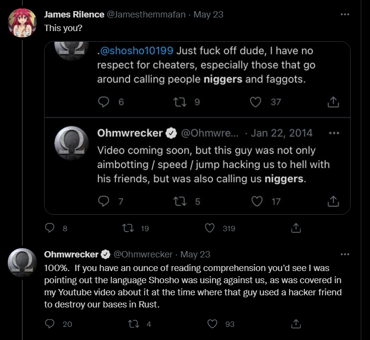 Ohm says N word.png